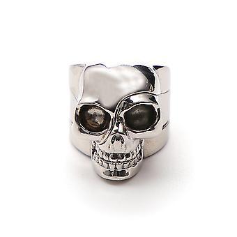 Alexander Mcqueen Silver Brass Ring