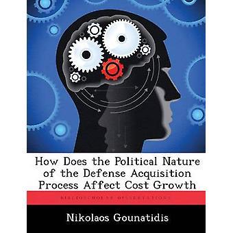 Miten poliittinen luonne puolustus hankinta prosessi vaikuttaa kustannusten kasvua vuoteen Gounatidis & Nikolaos