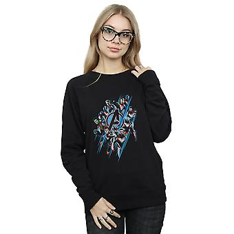 Marvel Women's Avengers Endgame Logo Team Sweatshirt