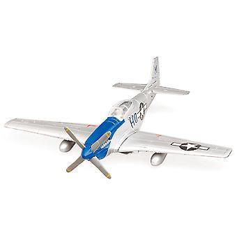Sky Pilot Classic Plane Model Kit (1:48 Scale), P-51D Mustang