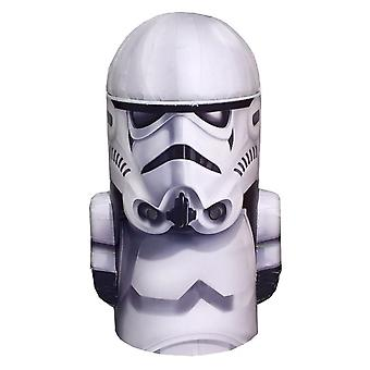 Star Wars Stormtrooper Head Shape Tin Money Box