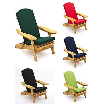 Adirondack Chair Newby Armchair with Luxury Cushion in Choice of 5 Colours