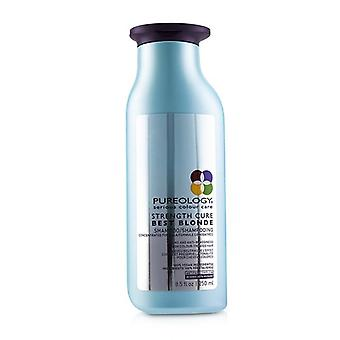 Pureology Strength Cure Best Blonde Shampoo (Toning and Anti-Brassiness For Colour-Treated Hair) 250ml/8.5oz