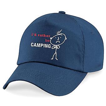 Men's I'd Rather Be Camping Cap