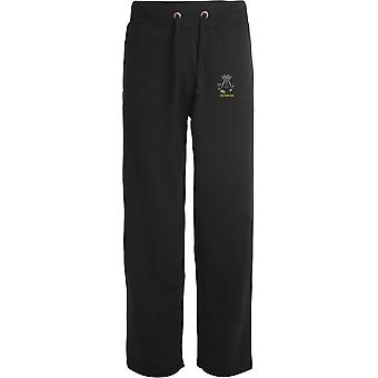 Somerset And Cornwall Light Infantry Veteran - Licensed British Army Embroidered Open Hem Sweatpants / Jogging Bottoms