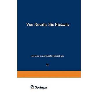Die Deutschen Lyriker Von Luther Bis Nietzsche Zweiter Band Von Novalis Bis Nietzsche de Witkop et Philipp
