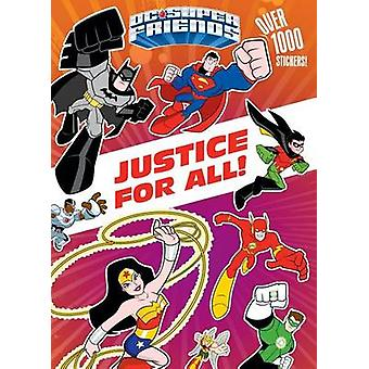 Justice for All! (DC Super Friends) by Frank Berrios - Golden Books -