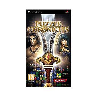 Puzzle Chronicles (PSP) - Usine scellée