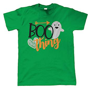 Boo Thing Mens T-Shirt | Halloween Fancy Dress Costume Trick Or Treat | Hallows Eve Ghost Pumpkin Witch Trick Treat Spooky | Halloween Gift Him Dad