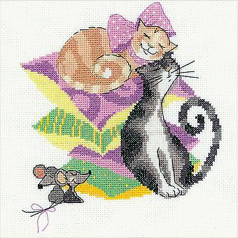 Cats And Mice Counted Cross Stitch Kit-8