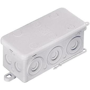 Wiska Wet-room junction boxes Humid room cable junction boxes KA 6 Grey (RAL 7035) IP54