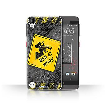 STUFF4 Case/Cover for HTC Desire 630/Men at Work/Funny Road Signs