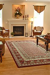 Royal Classic  1527R Shades of red, green, yellow and beige Rectangle Rugs Traditional Rugs