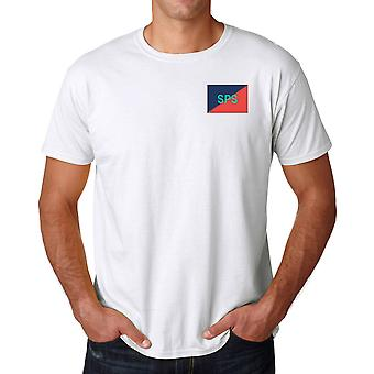 Staff & Personnel Support Branch SPSB Embroidered TRF Logo - Official British Army Ringspun T Shirt