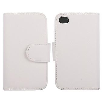 Cover type wallet with leather door cards-iPhone 4/4s