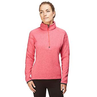 Peter Sturm Frauen der Blick Half Zip Fleece stricken