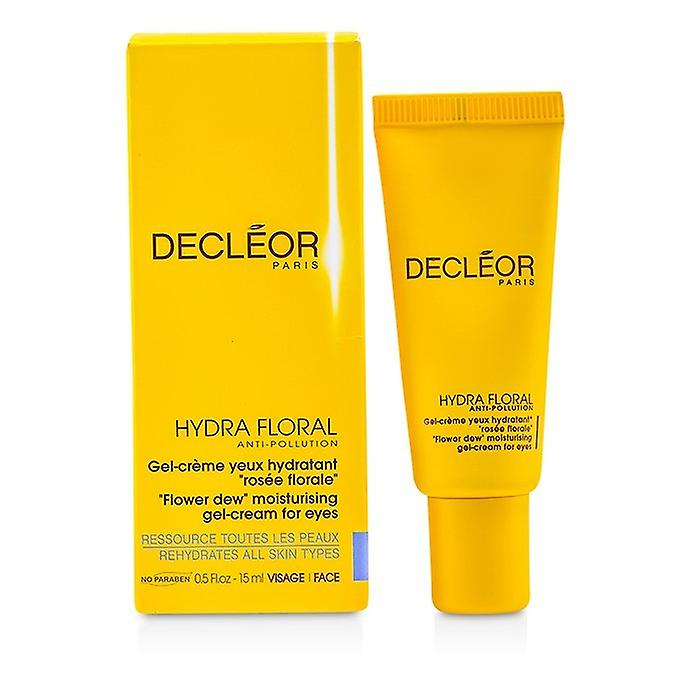 Decleor Hydra Floral Anti-Pollution Bloem Dew Hydraterende Gel-crème voor ogen 15ml / 0.5oz