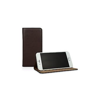 Caseual Läderslim For iPhone 6/6S Of Premium leather-BLACK