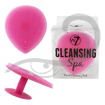 W7 Cleansing Spa Silicone Facial Cleansing Pad