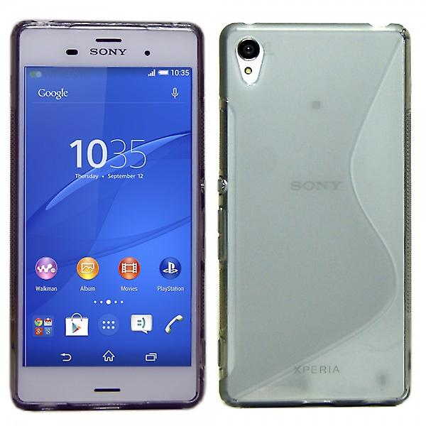 Silikoncase S-line gray for Sony Xperia Z3 plus (+) and dual