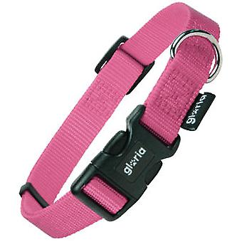 Creaciones Gloria Adjustable Nylon Collar Rosa Liso