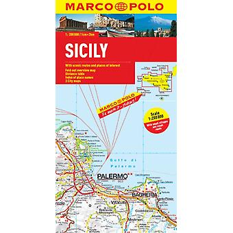 Sicily Marco Polo Map (Marco Polo Maps) (Map) by Marco Polo