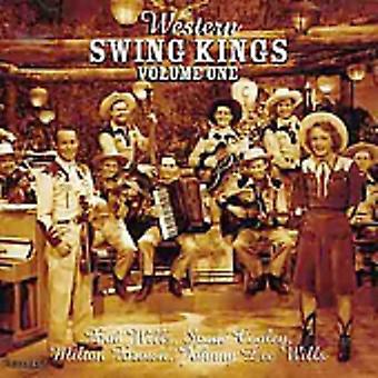 Western Swing konger - Vol. 1-Western Swing konger [CD] USA importerer