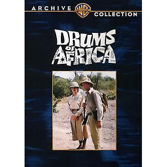 Drums of Africa [DVD] USA import