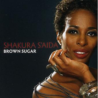 Shakura S'Aida - brun sukker [CD] USA import