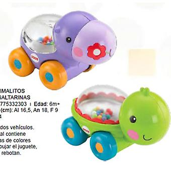 Fisher-Price Animal Bouncy Balls Assortments (Jouets , Maternelle , Véhicules)