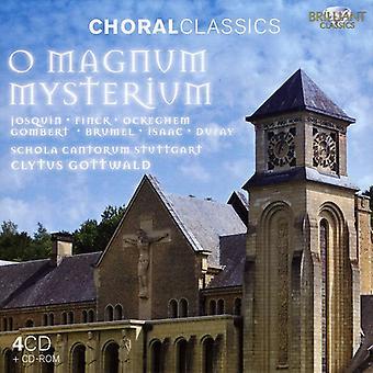 Schola Cantorum Stuttgart - Choral Classics: O Magnum Myseterium [CD] USA import