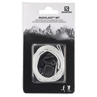Salomon Quick Lace Kit Schnellschnürsystem Natural Weiß