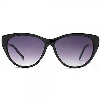 Glare Eyewear Blake Cateye Sunglasses In Black