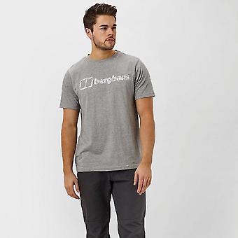 Grå Berghaus mäns Logo T-Shirt