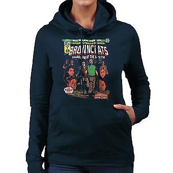 Browncoats Big Damn Heroes Firefly Serenity Comic Book Women's Hooded Sweatshirt