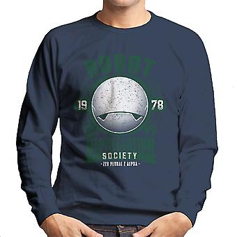 Robot Depreciation Society Hitchhikers Guide Men's Sweatshirt