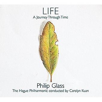 Glas / Haag Philharmonic - liv: en rejse gennem tid [CD] USA import