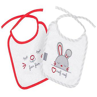 Naf Naf September 4 bibs Rabbit