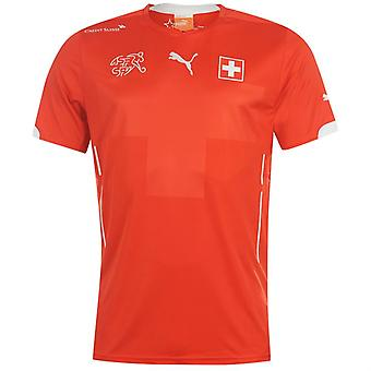 2014-15 Zwitserland Home World Cup voetbalshirt