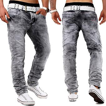 Legend JOGGDenim jeans broek ontwerper denim slim fit stretch clubwear