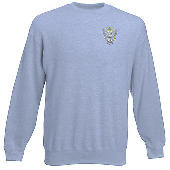 The Mercian Regiment Embroidered Logo - Official British Army Heavyweight Sweatshirt
