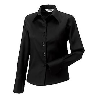 Russell Collection Ladies/Womens Long Sleeve Ultimate Non-Iron Shirt