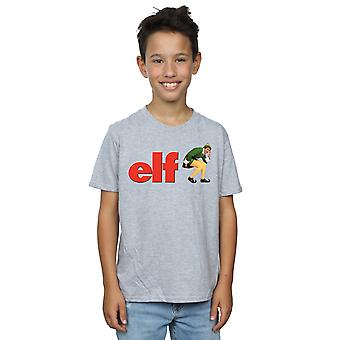 Elf Boys Crouching Logo T-Shirt