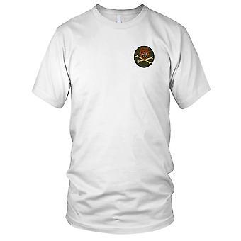 MACV-SOG FOBMM - Monkey Mountain fremad drift Base - Vietnamkrigen broderet Patch - Herre T-shirt