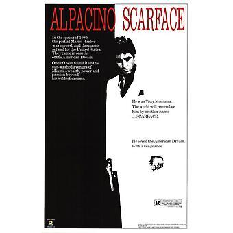 Scarface - Film Score Plakat Poster drucken