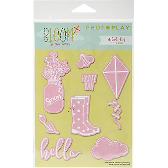 Photo Play Paper Etched Dies-Bloom PPBL2437