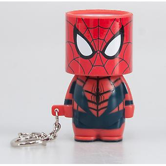 Official Marvel Spider-Man Clip On Look-Alite LED Keyring / Keychain