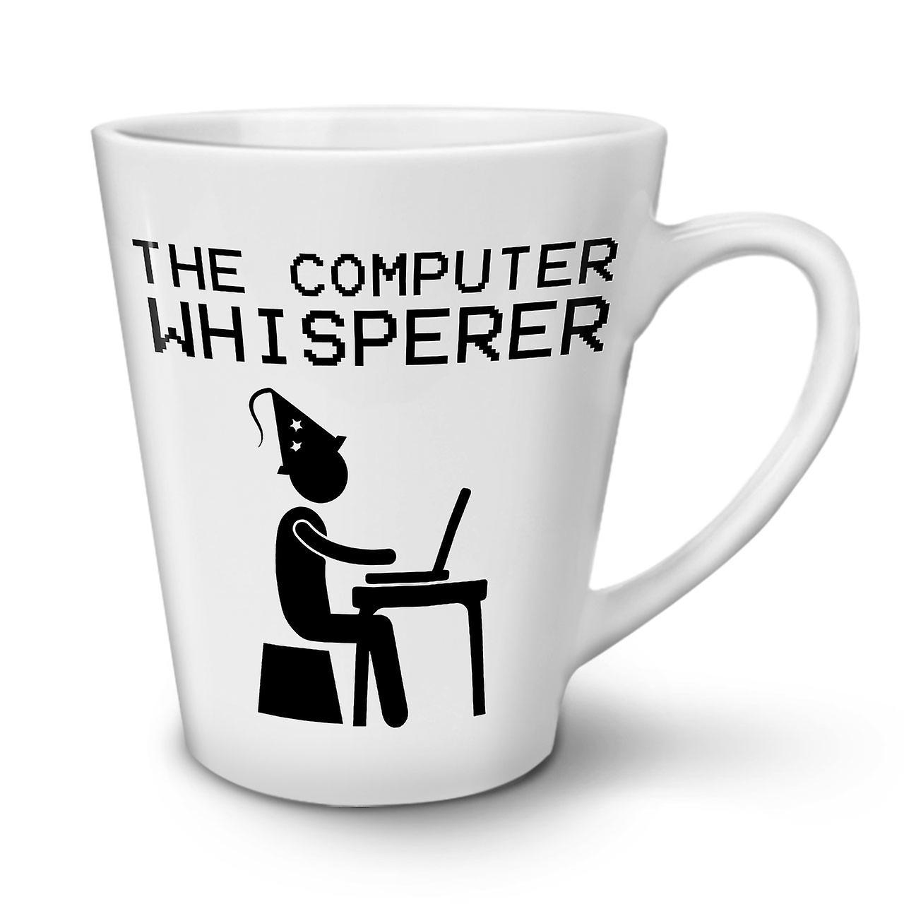 Programmeur En 12 OzWellcoda Café Nouvelle De Tasse Céramique Blanc Latte Thé b6gf7y