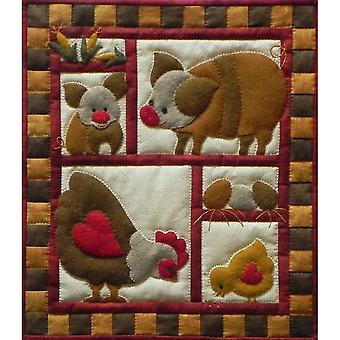Ham And Eggs Quilt Kit 13