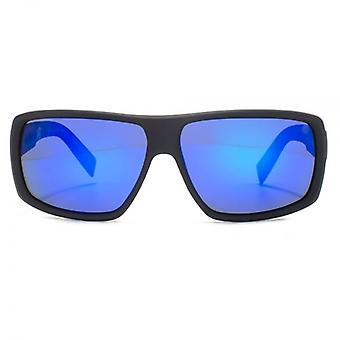 Dragon Double DOS Polar 1 Sunglasses In Matte Black Blue Ionized Polarised